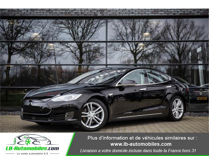 Tesla Model S P85 autopilot Noir occasion à Beaupuy