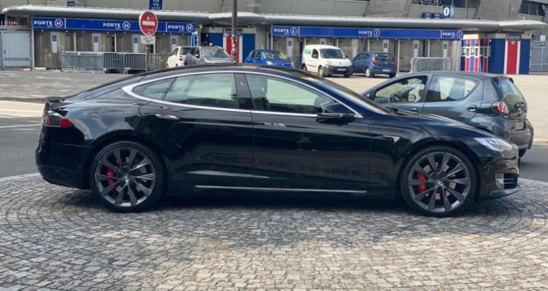 Tesla Model S Performance Noir occasion à Boulogne-Billancourt - photo n°3