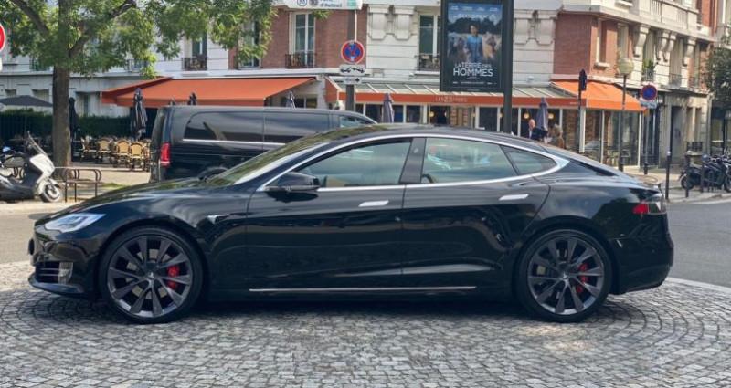 Tesla Model S Performance Noir occasion à Boulogne-Billancourt - photo n°6