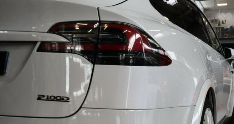 Tesla Model X 100 KWH Performance Dual Motor Blanc occasion à Boulogne-Billancourt - photo n°7