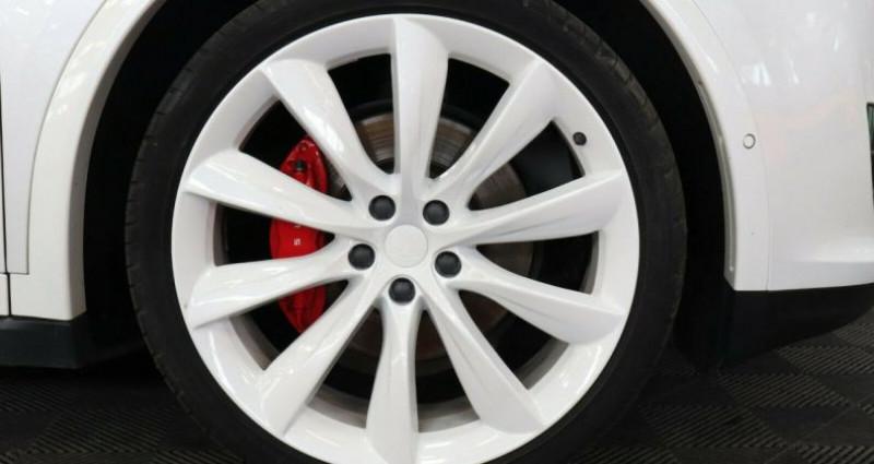 Tesla Model X 100 KWH Performance Dual Motor Blanc occasion à Boulogne-Billancourt - photo n°6