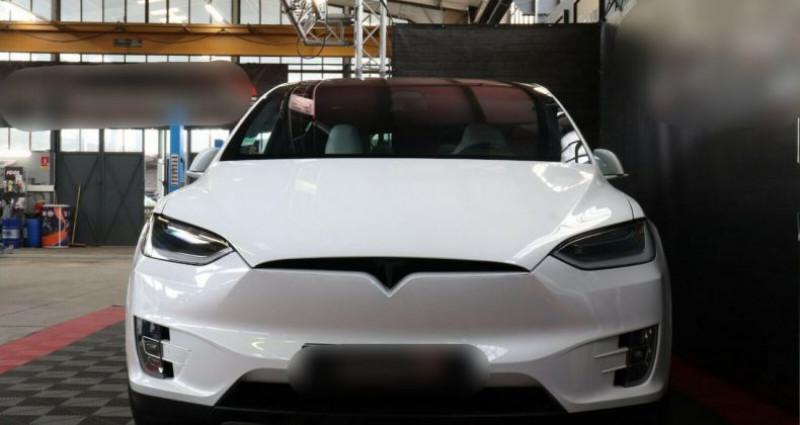 Tesla Model X 100 KWH Performance Dual Motor Blanc occasion à Boulogne-Billancourt - photo n°4