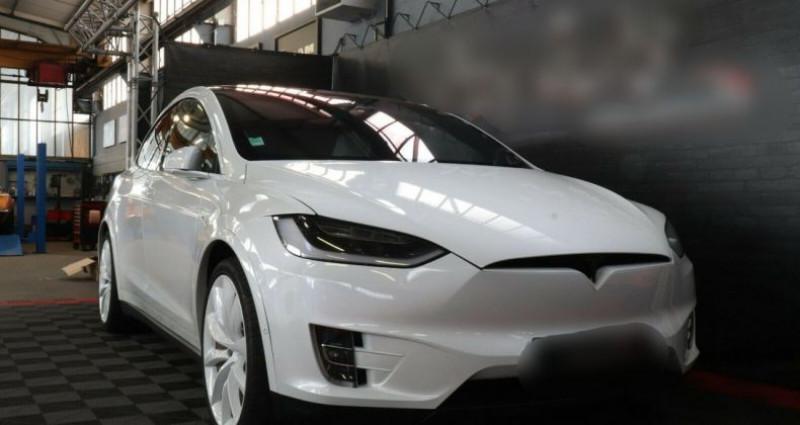 Tesla Model X 100 KWH Performance Dual Motor Blanc occasion à Boulogne-Billancourt