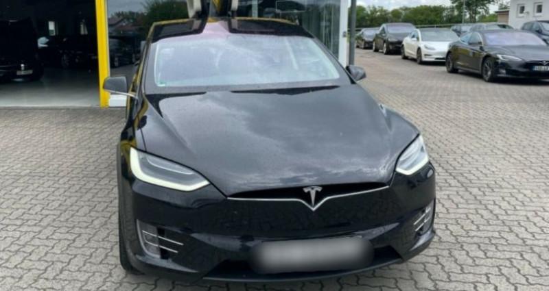 Tesla Model X 100D Dual Motor Noir occasion à Boulogne-Billancourt - photo n°5