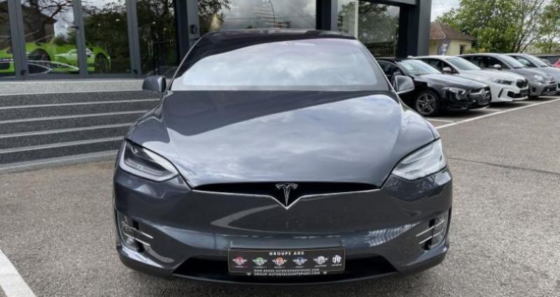 Tesla Model X 75D Gris occasion à FOETZ - photo n°7