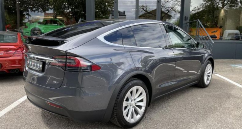 Tesla Model X 75D Gris occasion à FOETZ - photo n°4
