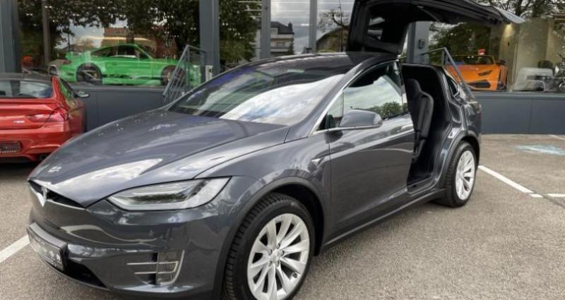 Tesla Model X 75D Gris occasion à FOETZ - photo n°5