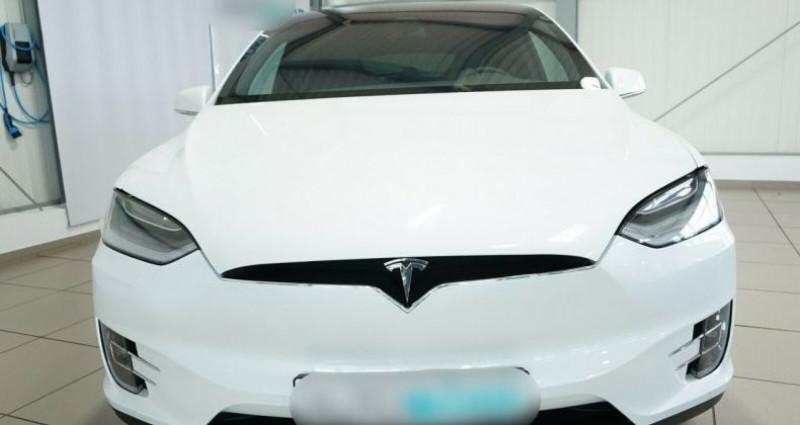 Tesla Model X Long Range AWD Blanc occasion à Boulogne-Billancourt - photo n°6