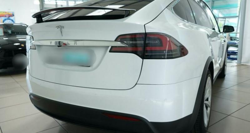 Tesla Model X Long Range AWD Blanc occasion à Boulogne-Billancourt - photo n°5