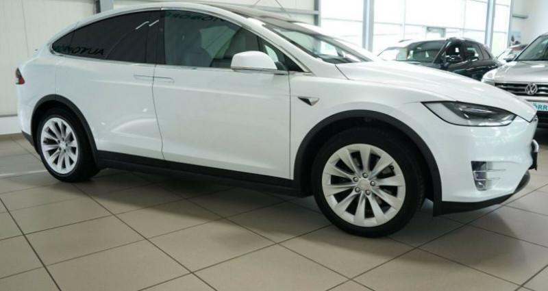 Tesla Model X Long Range AWD Blanc occasion à Boulogne-Billancourt - photo n°4