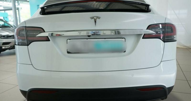 Tesla Model X Long Range AWD Blanc occasion à Boulogne-Billancourt - photo n°3