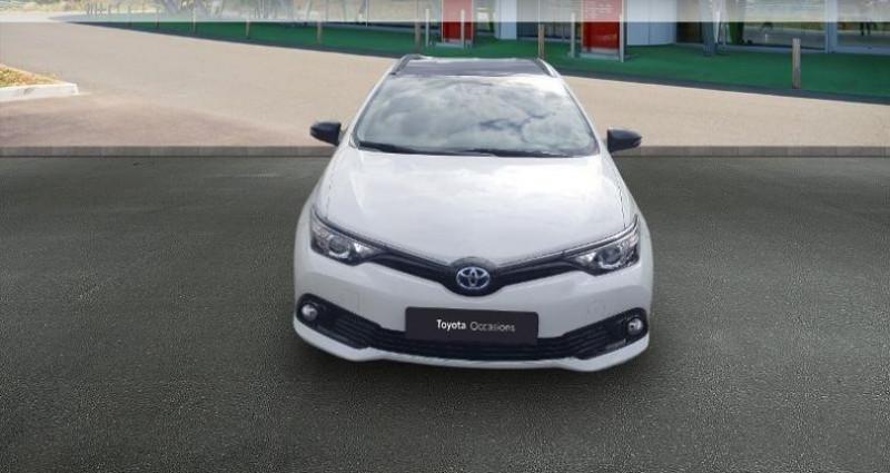 Toyota Auris Touring Sports HSD 136h Collection Blanc occasion à Tours - photo n°5