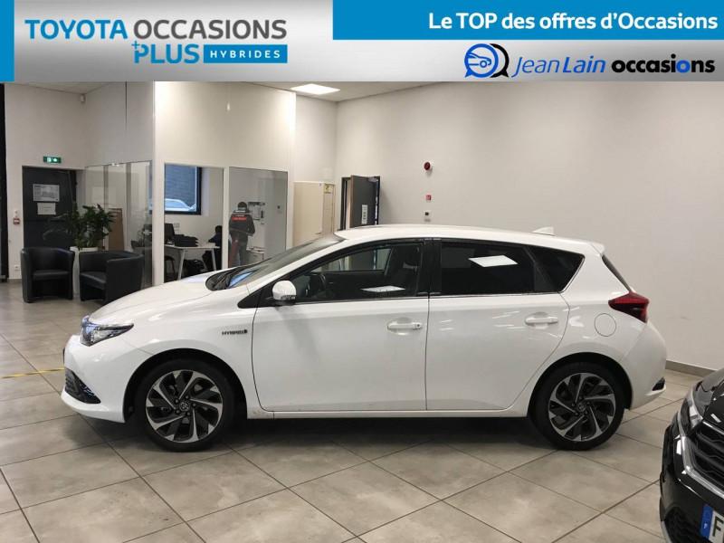 Toyota Auris Auris Hybride 136h Design 5p Blanc occasion à Bellegarde-sur-Valserine - photo n°8