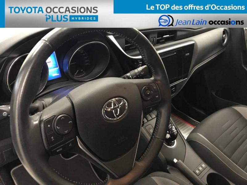 Toyota Auris Auris Hybride 136h Design 5p Blanc occasion à Bellegarde-sur-Valserine - photo n°12