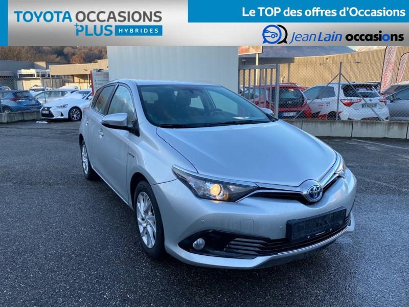 Toyota Auris Auris Hybride 136h HSD E-CVT TYPE ACTIVE 5p Gris occasion à Tournon - photo n°3