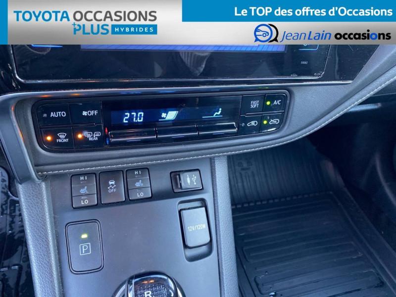 Toyota Auris Auris Hybride 136h HSD E-CVT TYPE ACTIVE 5p Gris occasion à Tournon - photo n°14
