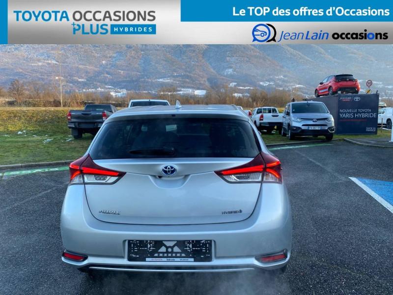 Toyota Auris Auris Hybride 136h HSD E-CVT TYPE ACTIVE 5p Gris occasion à Tournon - photo n°6