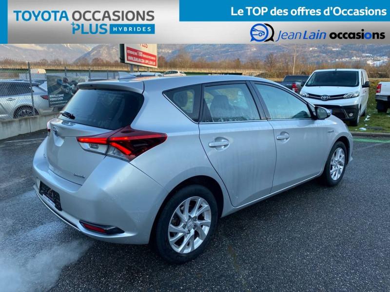 Toyota Auris Auris Hybride 136h HSD E-CVT TYPE ACTIVE 5p Gris occasion à Tournon - photo n°5
