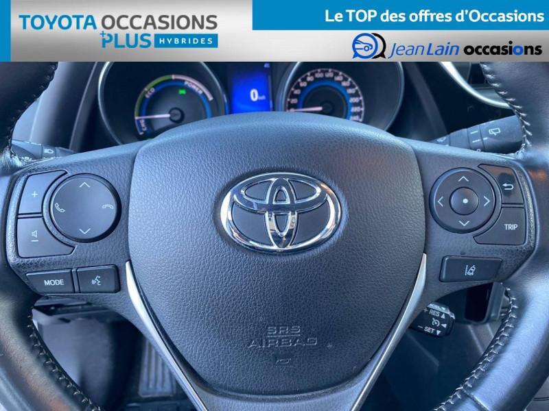 Toyota Auris Auris Hybride 136h HSD E-CVT TYPE ACTIVE 5p Gris occasion à Tournon - photo n°12