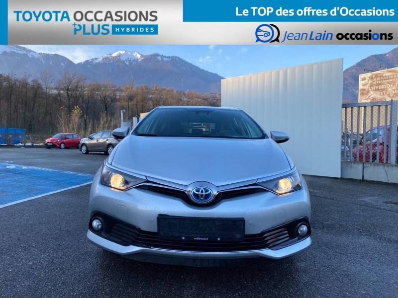 Toyota Auris Auris Hybride 136h HSD E-CVT TYPE ACTIVE 5p Gris occasion à Tournon - photo n°2