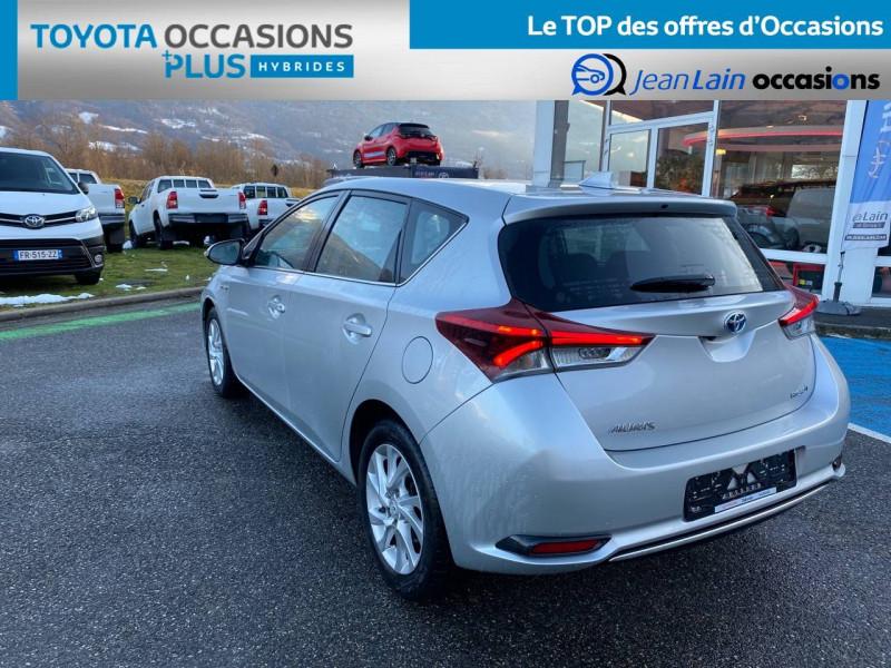 Toyota Auris Auris Hybride 136h HSD E-CVT TYPE ACTIVE 5p Gris occasion à Tournon - photo n°7
