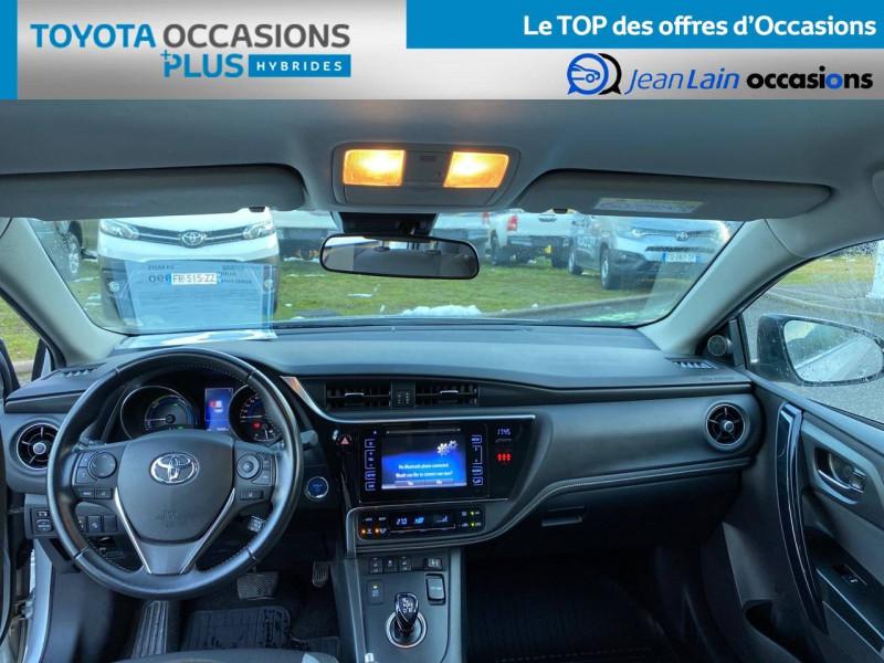 Toyota Auris Auris Hybride 136h HSD E-CVT TYPE ACTIVE 5p Gris occasion à Tournon - photo n°18