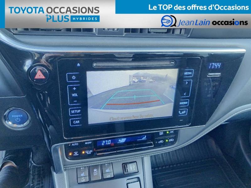 Toyota Auris Auris Hybride 136h HSD E-CVT TYPE ACTIVE 5p Gris occasion à Tournon - photo n°15