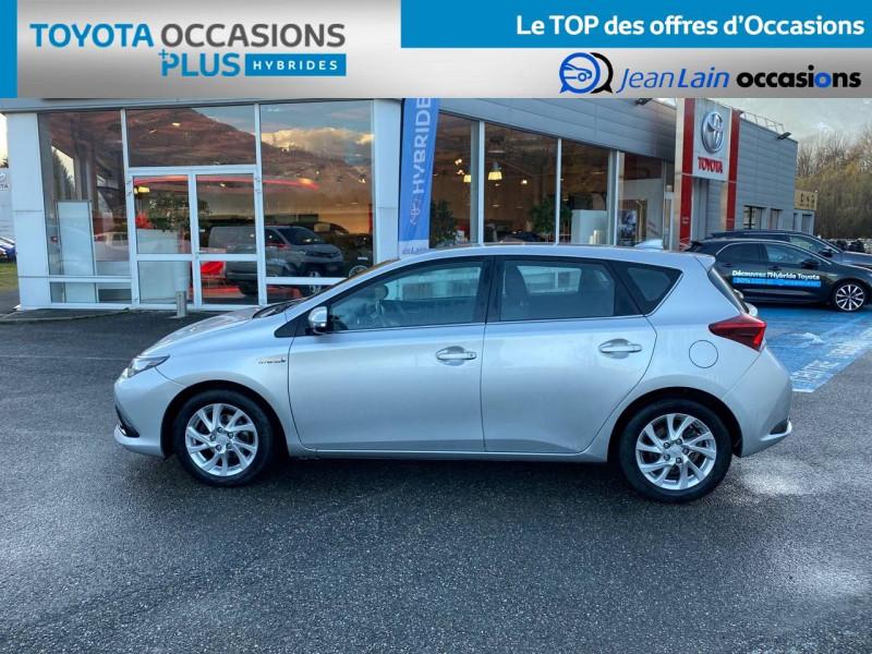 Toyota Auris Auris Hybride 136h HSD E-CVT TYPE ACTIVE 5p Gris occasion à Tournon - photo n°8