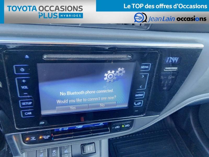 Toyota Auris Auris Hybride 136h HSD E-CVT TYPE ACTIVE 5p Gris occasion à Tournon - photo n°16