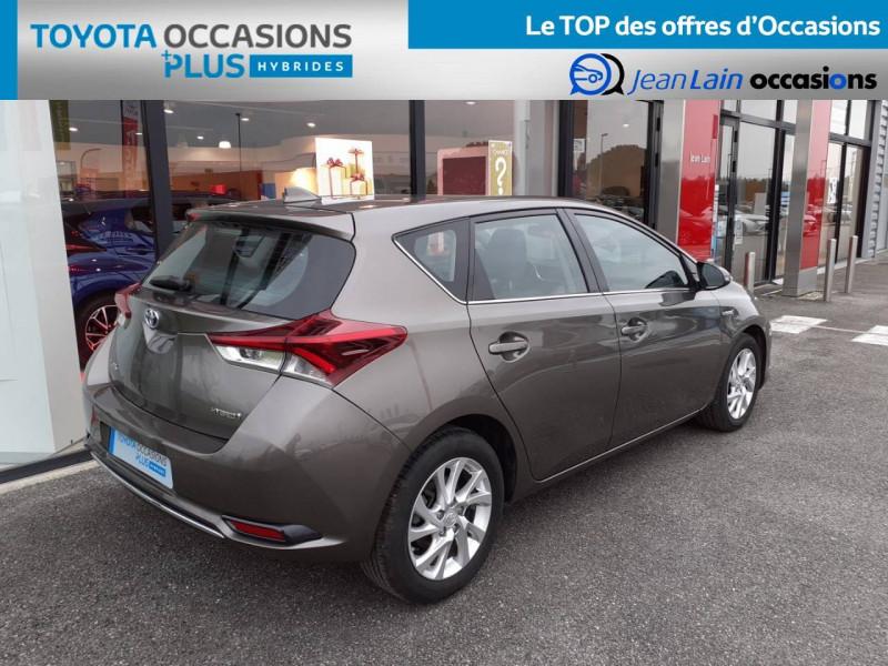 Toyota Auris Auris Hybride 136h HSD E-CVT TYPE ACTIVE 5p Gris occasion à Valence - photo n°5