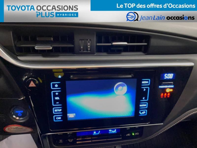 Toyota Auris Auris Hybride 136h HSD E-CVT TYPE ACTIVE 5p Bleu occasion à Bellegarde-sur-Valserine - photo n°15