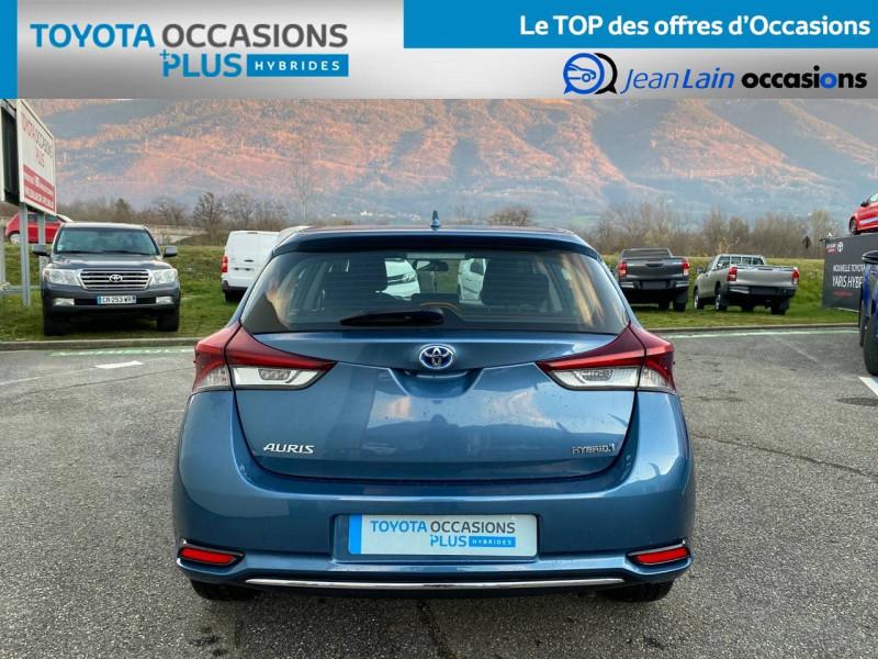 Toyota Auris Auris Hybride 136h HSD E-CVT TYPE ACTIVE 5p Bleu occasion à Tournon - photo n°6