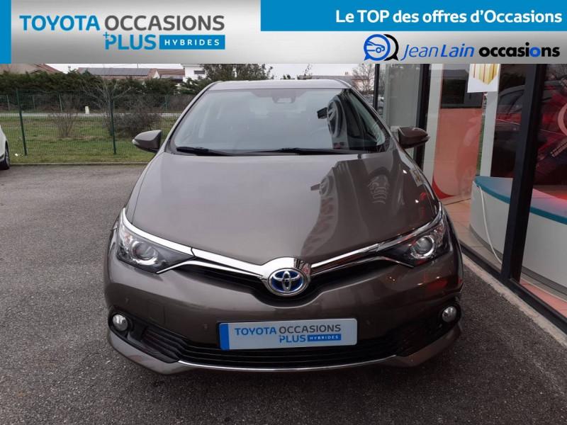 Toyota Auris Auris Hybride 136h HSD E-CVT TYPE ACTIVE 5p Gris occasion à Valence - photo n°2