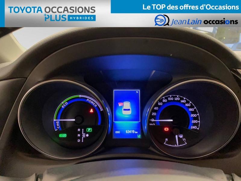 Toyota Auris Auris Hybride 136h HSD E-CVT TYPE ACTIVE 5p Bleu occasion à Bellegarde-sur-Valserine - photo n°16