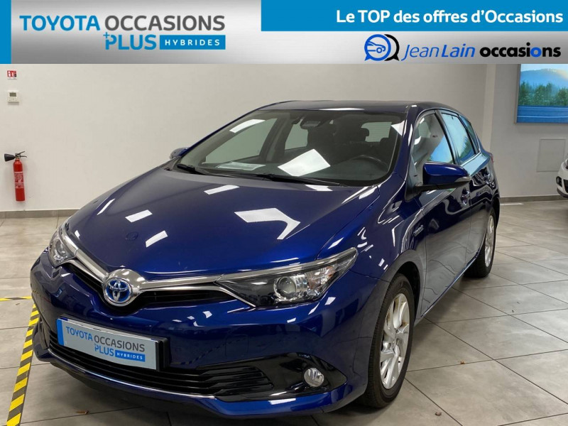 Toyota Auris Auris Hybride 136h HSD E-CVT TYPE ACTIVE 5p Bleu occasion à Bellegarde-sur-Valserine