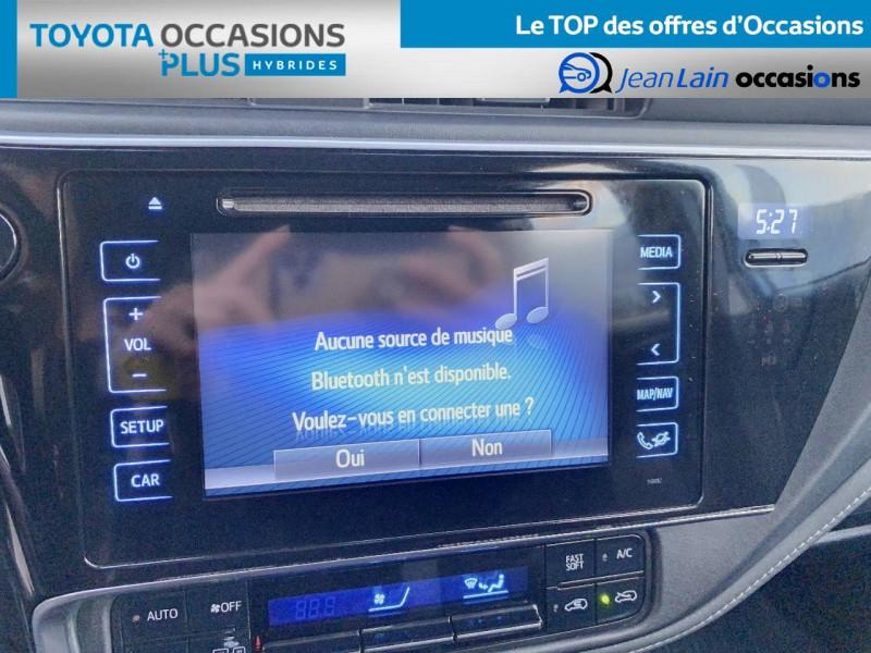 Toyota Auris Auris Hybride 136h HSD E-CVT TYPE ACTIVE 5p Bleu occasion à Tournon - photo n°16