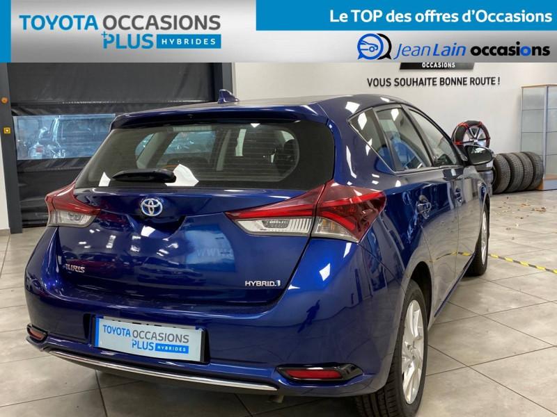 Toyota Auris Auris Hybride 136h HSD E-CVT TYPE ACTIVE 5p Bleu occasion à Bellegarde-sur-Valserine - photo n°5