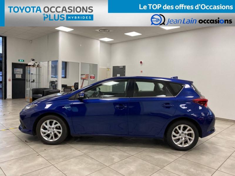 Toyota Auris Auris Hybride 136h HSD E-CVT TYPE ACTIVE 5p Bleu occasion à Bellegarde-sur-Valserine - photo n°8