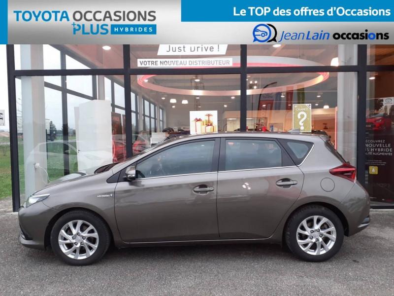Toyota Auris Auris Hybride 136h HSD E-CVT TYPE ACTIVE 5p Gris occasion à Valence - photo n°8