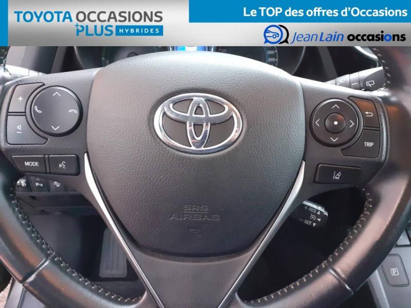 Toyota Auris Auris Hybride 136h HSD E-CVT TYPE ACTIVE 5p Gris occasion à Valence - photo n°12