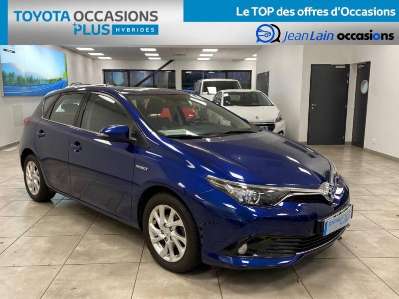 Toyota Auris Auris Hybride 136h HSD E-CVT TYPE ACTIVE 5p Bleu occasion à Bellegarde-sur-Valserine - photo n°3