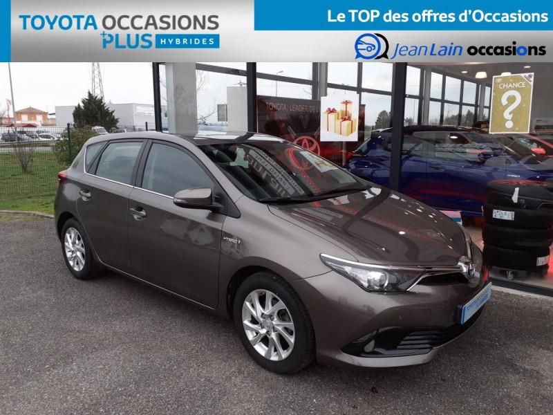Toyota Auris Auris Hybride 136h HSD E-CVT TYPE ACTIVE 5p Gris occasion à Valence - photo n°3