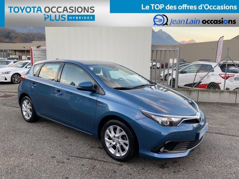 Toyota Auris Auris Hybride 136h HSD E-CVT TYPE ACTIVE 5p Bleu occasion à Tournon - photo n°3
