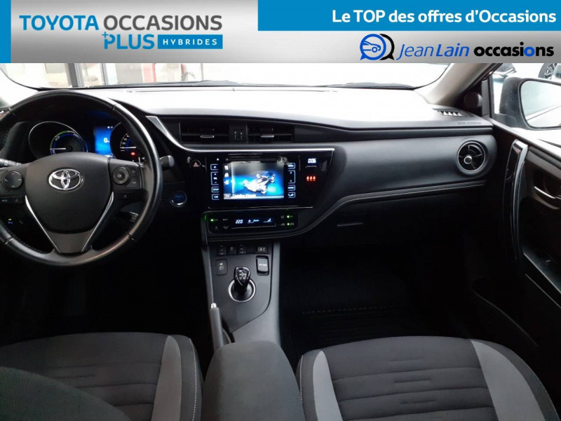 Toyota Auris Auris Hybride 136h HSD E-CVT TYPE ACTIVE 5p Gris occasion à Valence - photo n°18