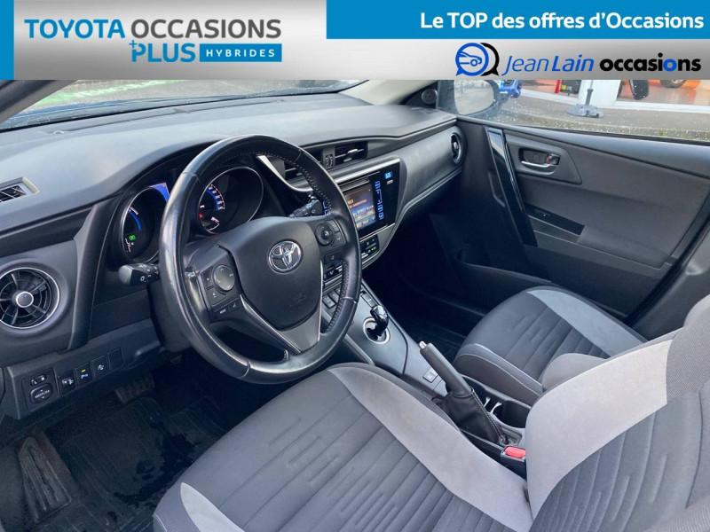 Toyota Auris Auris Hybride 136h HSD E-CVT TYPE ACTIVE 5p Bleu occasion à Tournon - photo n°11