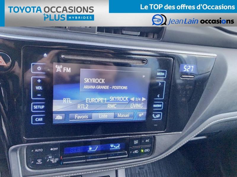 Toyota Auris Auris Hybride 136h HSD E-CVT TYPE ACTIVE 5p Bleu occasion à Tournon - photo n°15