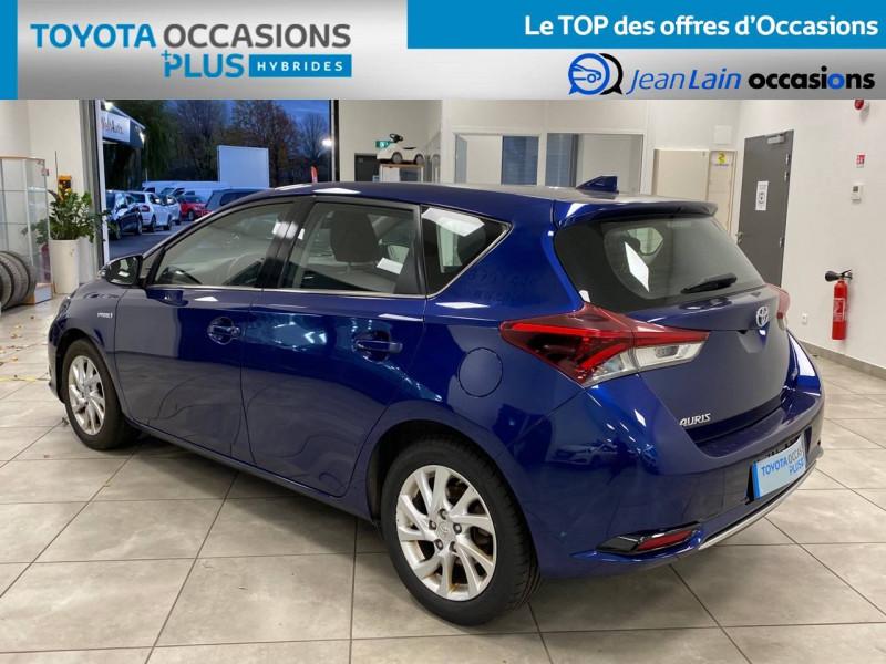 Toyota Auris Auris Hybride 136h HSD E-CVT TYPE ACTIVE 5p Bleu occasion à Bellegarde-sur-Valserine - photo n°7