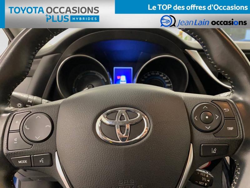 Toyota Auris Auris Hybride 136h HSD E-CVT TYPE ACTIVE 5p Bleu occasion à Bellegarde-sur-Valserine - photo n°12