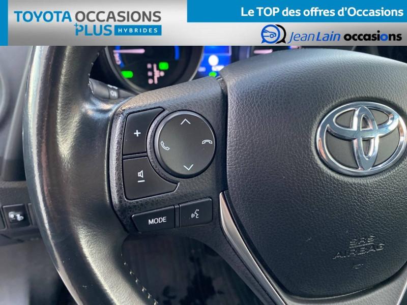 Toyota Auris Auris Hybride 136h HSD E-CVT TYPE ACTIVE 5p Bleu occasion à Tournon - photo n°12