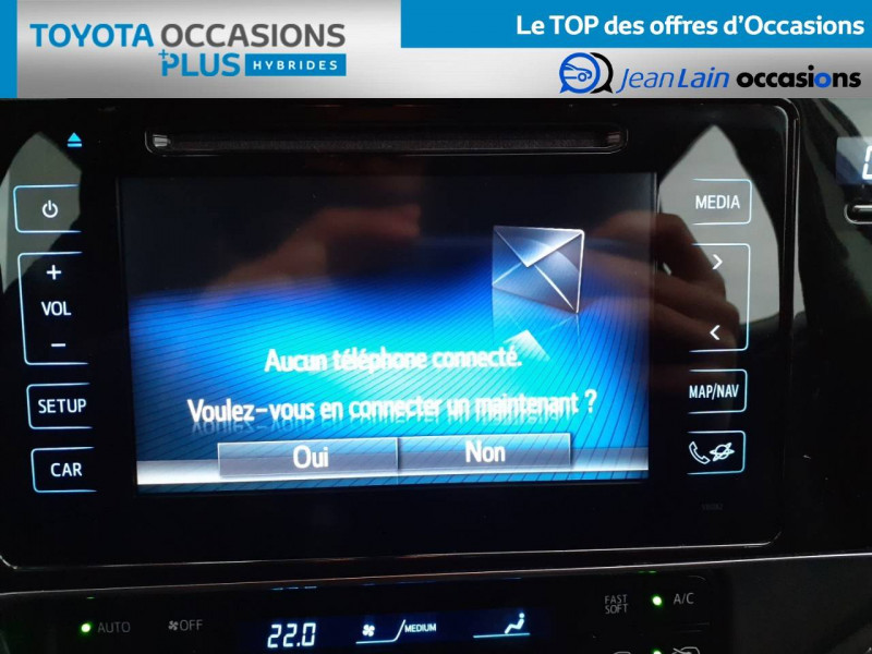 Toyota Auris Auris Hybride 136h HSD E-CVT TYPE ACTIVE 5p Gris occasion à Valence - photo n°16